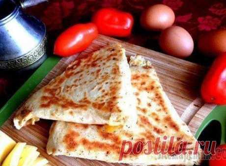 Армянская закуска из лаваша