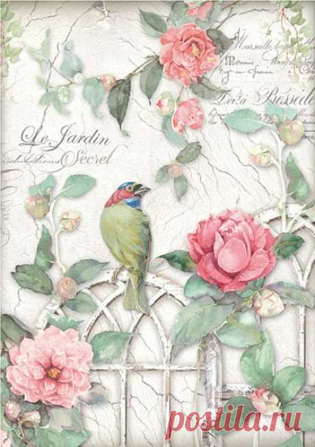Декупаж - Бумага - Райс | Fa Jacobi краски и материалы Руководство