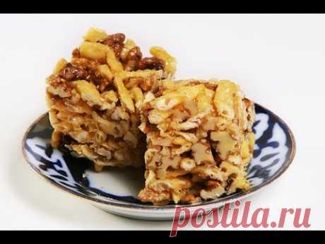 CHAK-CHAK. Video recipe of chak-chak. Tatar national sweet chak-chak.