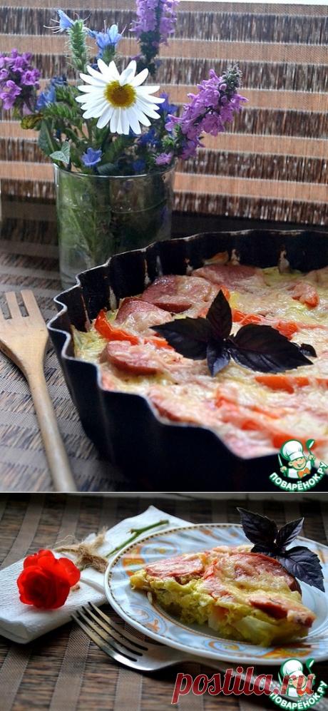 Сочная запеканка из капусты и кабачков – кулинарный рецепт