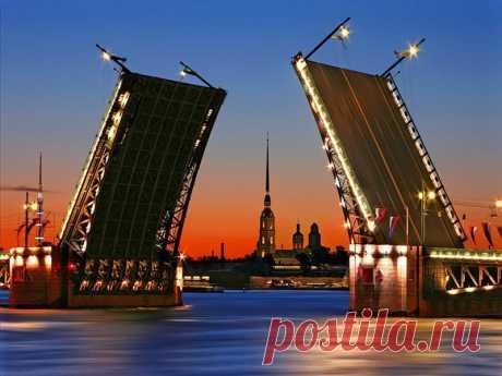 Разводные мосты. Санкт-Петербург