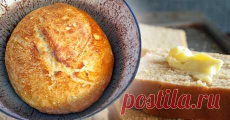 Подборка простых рецептов домашнего хлеба