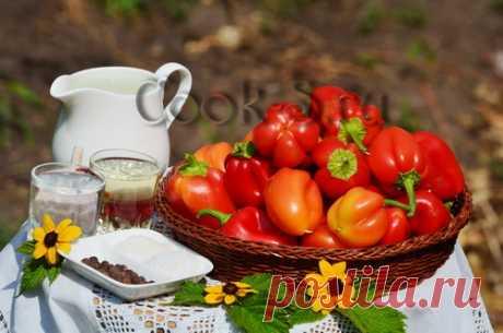 Перец, маринованный в масле - Пошаговый рецепт с фото   Консервирование
