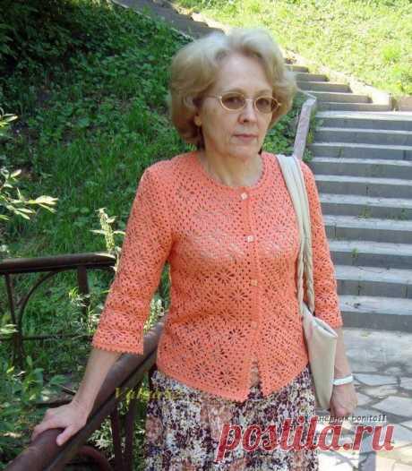 Жакетик летний от Valga52 (ИДЕИ ДЛЯ ВДОХНОВЕНИЯ) – Журнал Вдохновение Рукодельницы
