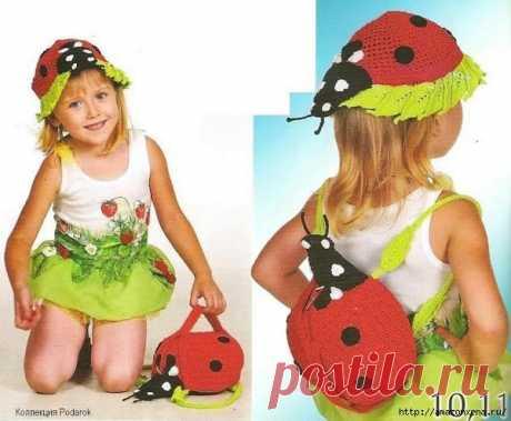 Детские сумочки и рюкзачки крючком. Идеи со схемами | Bestcrufts.ru