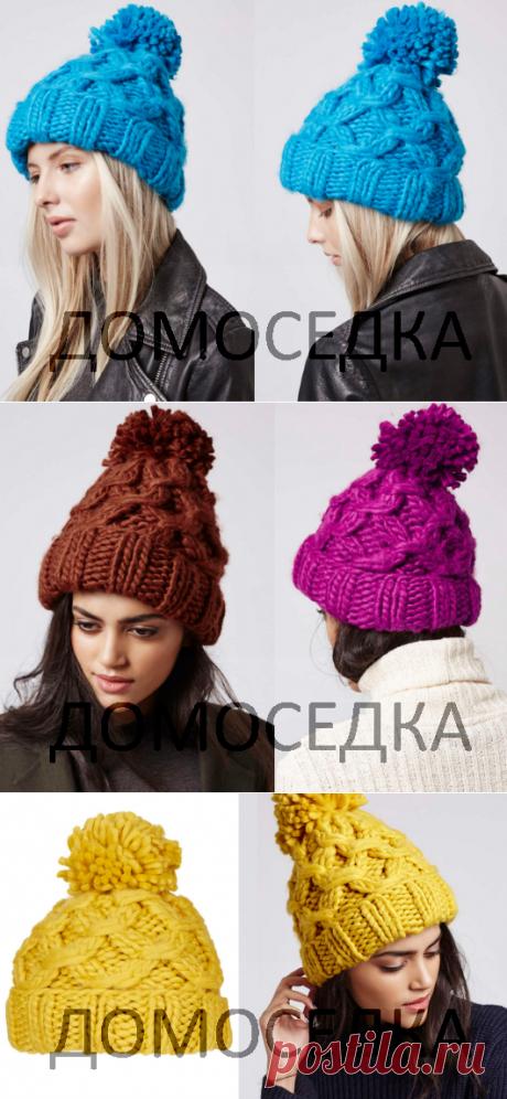 Схема вязания шапки | ДОМОСЕДКА