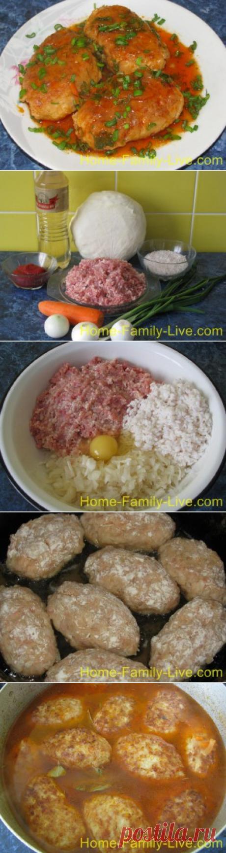 Как приготовить ленивые голубцы/Сайт с пошаговыми рецептами с фото для тех кто любит готовить