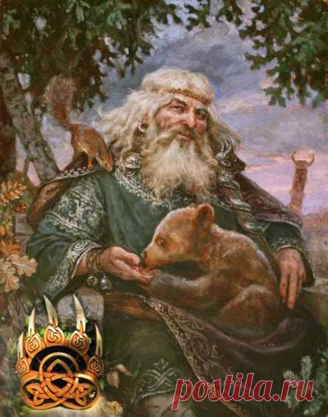 La prensa de Velesa — el símbolo del dios-oso