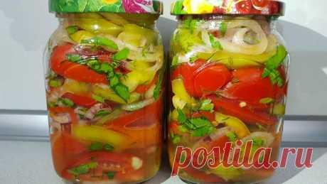 Очень популярный салат на зиму. Такой вкусный, что пальчики оближешь. | Территория Аппетита | Яндекс Дзен