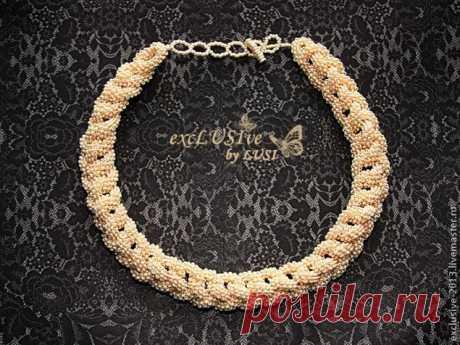 Изготовление ожерелья Pearl passion