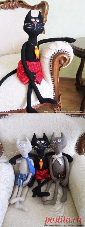 Смешной кот на радость детям и взрослым — Сделай сам, идеи для творчества - DIY Ideas