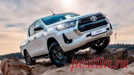 Обновленный пикап Toyota Hilux 2020 характеристики