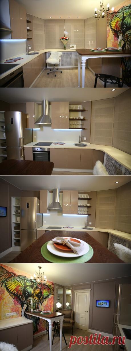 Как создать дома уют: кухня Алины и Павла до и после ремонта – Roomble.com