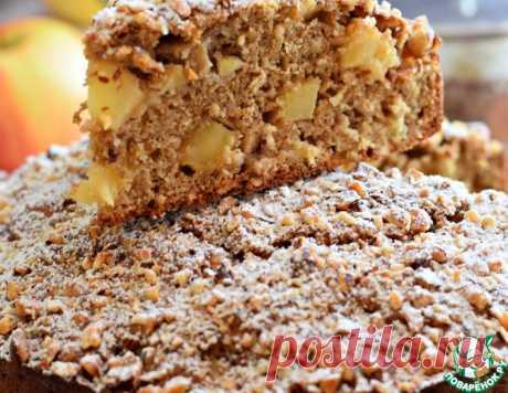 Пирог яблочный с ржаной мукой – кулинарный рецепт