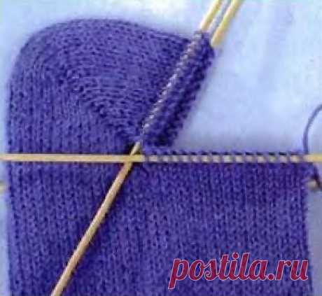 Общие правила вязания носков с пяткой «Бумеранг»