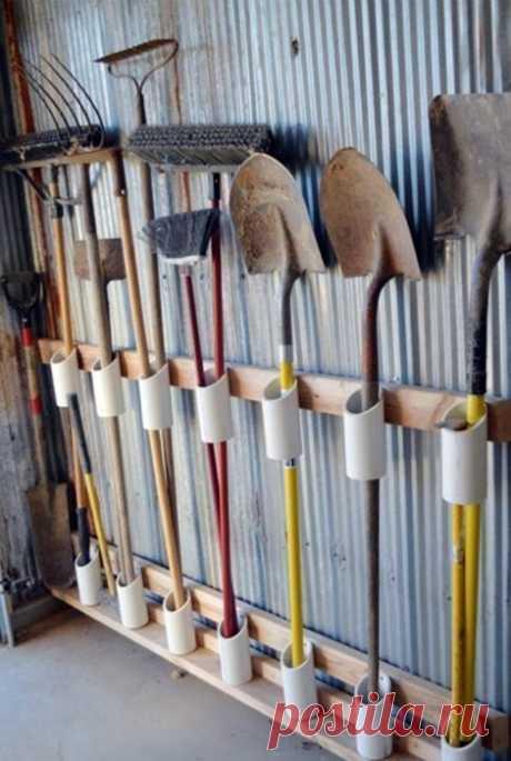 19 творческих идей по использованию ПВХ-труб для сада и огорода