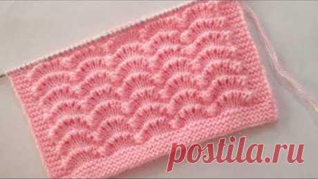 Beautiful Knitting Stitch pattern For Babies Cardigan
