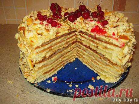 Быстрый торт на сковороде | Простые рецепты с фото