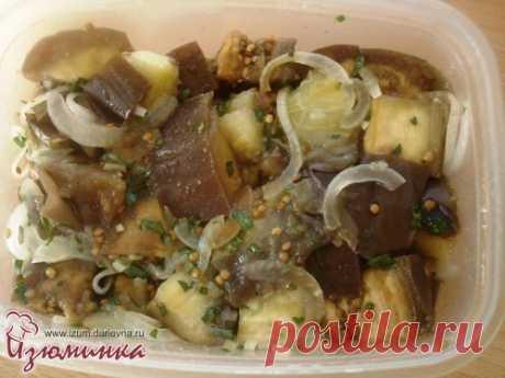Острые закуски - рецепт маринованных баклажанов