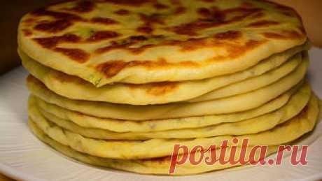 Лепешки с картошкой из сырного теста на кефире (на сухой сковороде) – рецепт с фото на Koolinar.ru