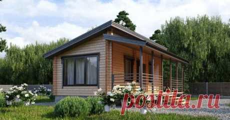 Финский домик 6х8 не поражает воображение своими размерами, но зато он уютный, ухоженный и в нем точно нет ничего лишнего | Дома из Коми | Яндекс Дзен