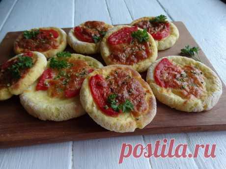 Финские лепёшки на картофельном тесте.
