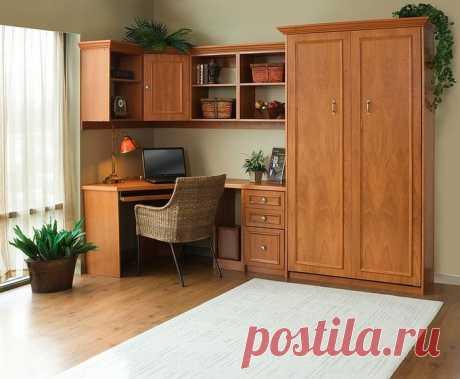 Офис в спальне: как обустроить максимально удобно — Мой дом