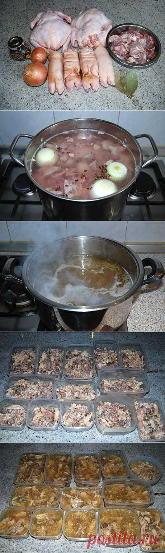 Как приготовить холодец из курицы? | «Страна советов»