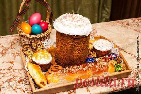 Выпечка на Пасху: куличи на Пасху, сдобные рулеты и булочки | рецепты Голосовой Людмилы с фото