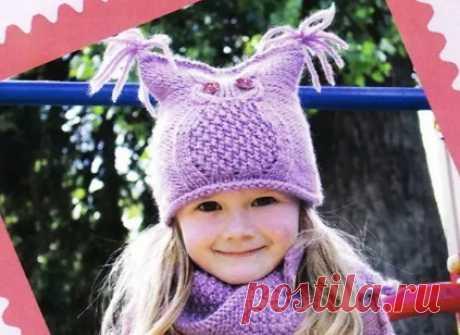 Детский снуд спицами для девочки, мальчика: схемы вязания с описанием, размеры. Как связать красивую шапку и шарф снуд на ребенка и на подростка спицами?