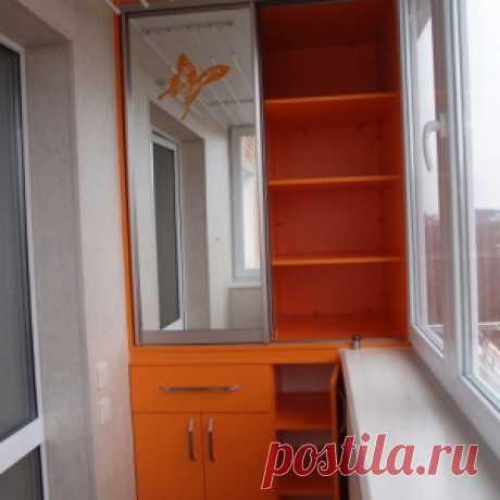 Системы хранения и шкафы на балкон
