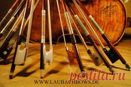 ABOUT BOWS FOR VIOLIN, VIOLA OR CELLO - Laubach violin workshop