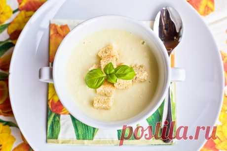 Крем-суп с цветной капустой — Sloosh – кулинарные рецепты