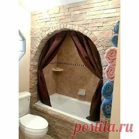 Как вам такой дизайн для ванной комнаты?