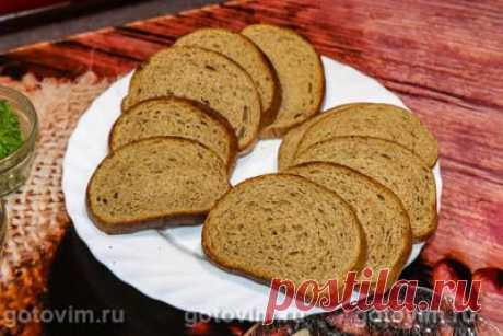Бутерброд с селедкой и ароматным маслом. Рецепт с фото / Готовим.РУ