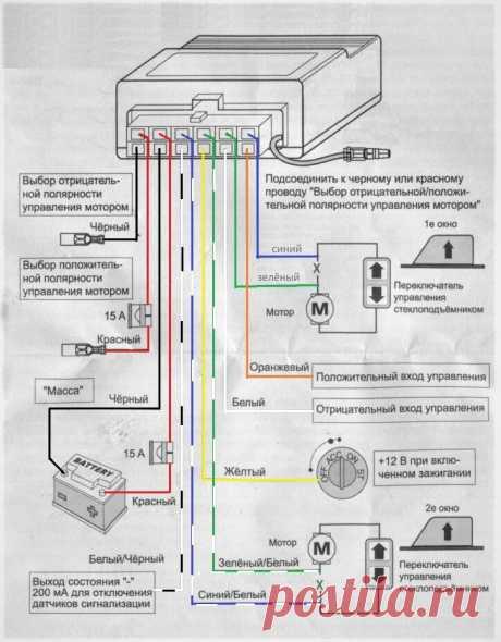 Как подключить блок доводчика стеклоподъёмников, чтобы он не потреблял ток в ждущем режиме. | AvtoTechLife | Яндекс Дзен
