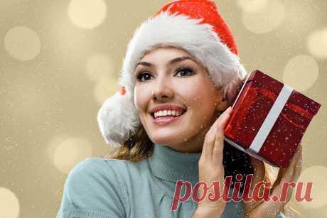 Подарки на Новый год. Идеи новогодних подарков для женщины.