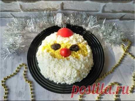 Фаворит новогоднего стола, салат с курицей и грибами в новой подаче!