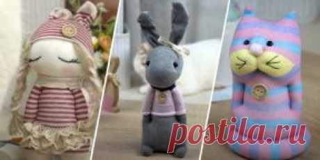 25 милых игрушек из носков, которые можно сделать своими руками