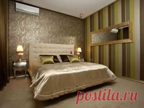 Комбинирование обоев в спальне: фото, интересные идеи (83 фото) - cozyblog - медиаплатформа МирТесен