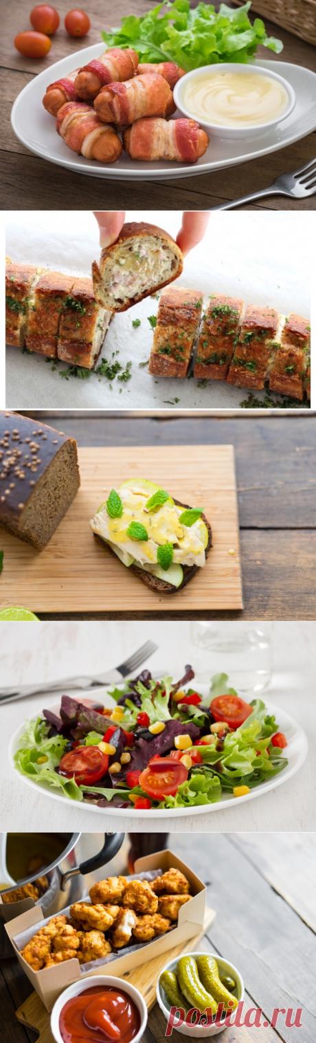 12 закусок из того, что есть дома, чтобы накормить толпу
