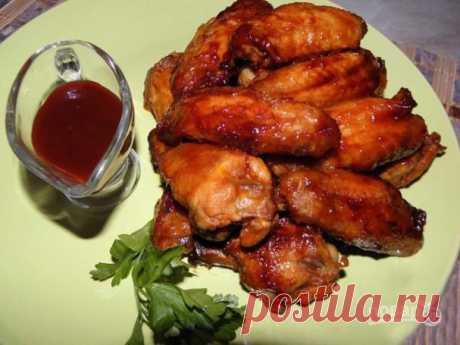 Крылышки куриные жареные - пошаговый рецепт с фото на Повар.ру