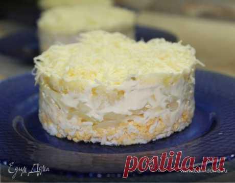 Салат «Снежная королева»   Официальный сайт кулинарных рецептов Юлии Высоцкой