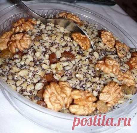 Сочиво с изюмом и орехами - пошаговый рецепт с фото на Повар.ру