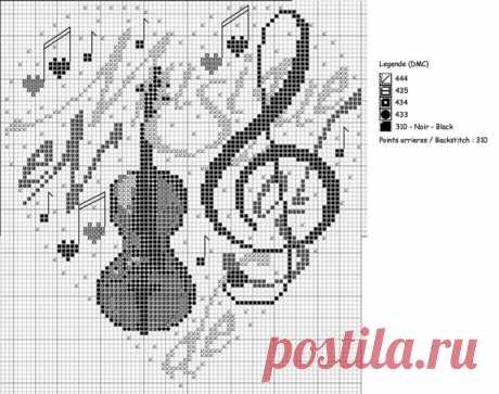 Сердечки от IV,50059К Music heart.
