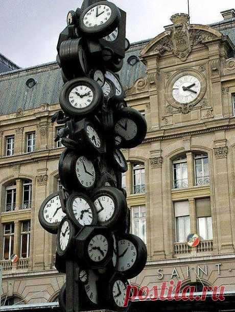Не забудьте сверить часы.