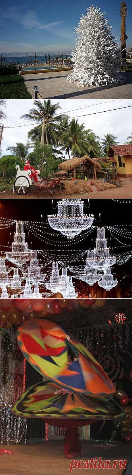 Рождественские ёлки в разных странах мира   ТУРИЗМ И ОТДЫХ