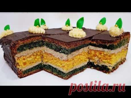 ТОРТ с ХАЛВОЙ ( cake with halva )