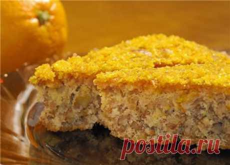 Karidopita – греческий ореховый пирог от Kaninchen » Кулинарные рецепты с фото, кулинария на Вкусняшка.ру