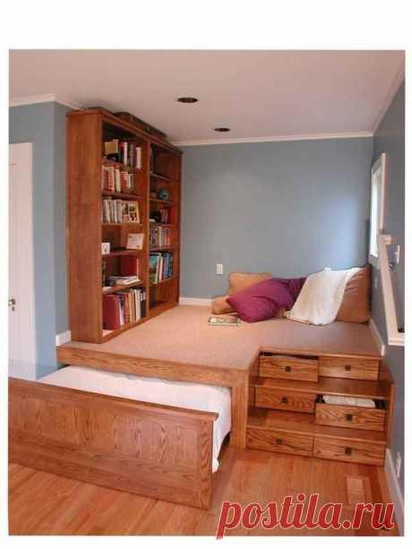 Aug 5, 2019- Если ваша комната каждый день превращается из спальни в гостиную – эта статья для вас. Мы нашли несколько хороших способов с легкостью спрятать вашу кровать от посторонних глаз